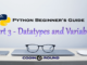 datatypes and variables python