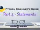 statements in python