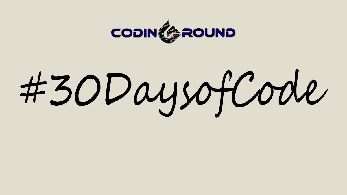 30 Days of Code